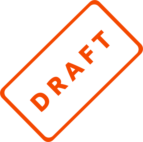 draft business document