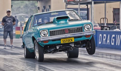 drag car speed