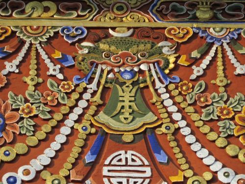 dragon art bhutan