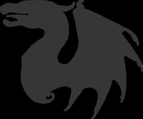dragon dragon vector dragon silhouette