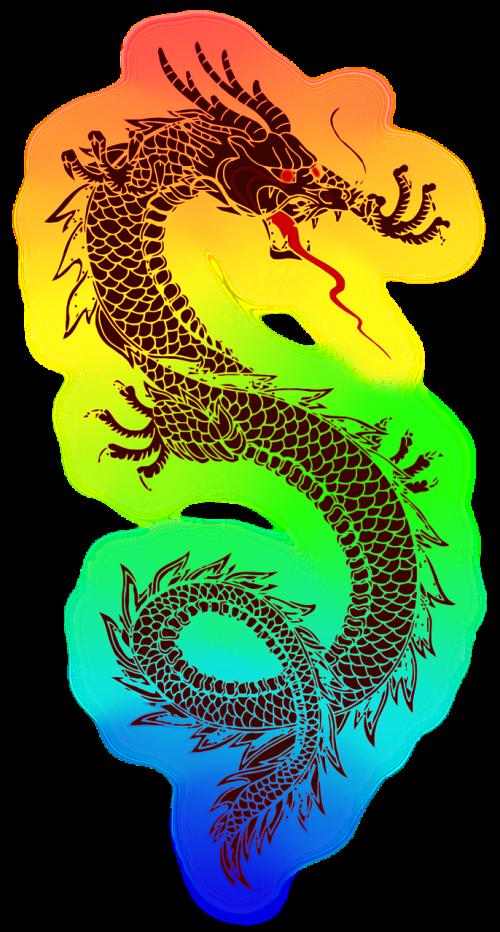 dragon tattoo chinese