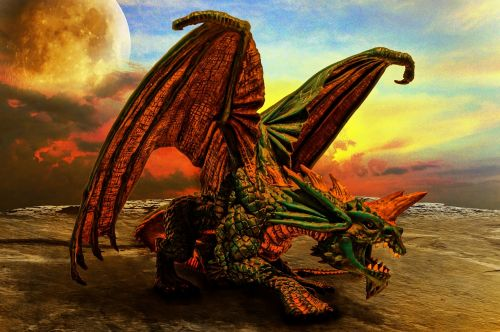 dragon fantasy mythical creatures