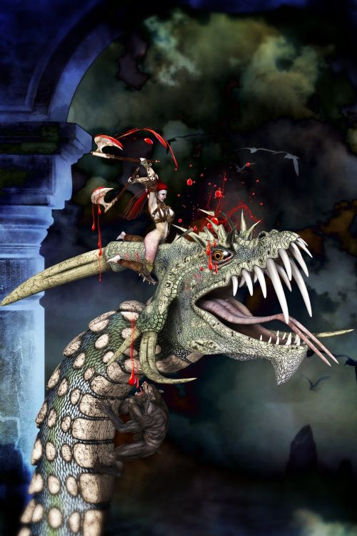 dragon girl fairy