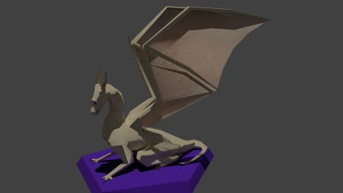 dragon model blender