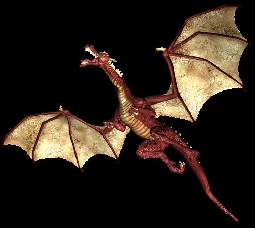 dragon flying wings