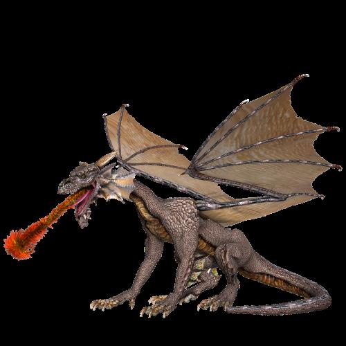 dragon wings fire