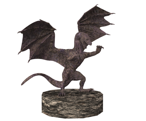 dragon stone figure
