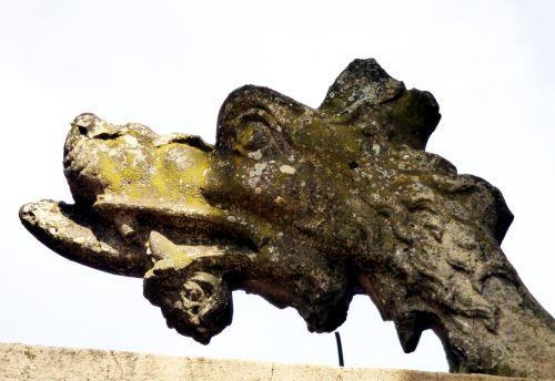 dragon pierre sculptures