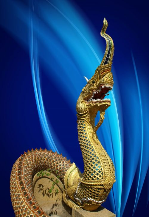 dragon statue thailand
