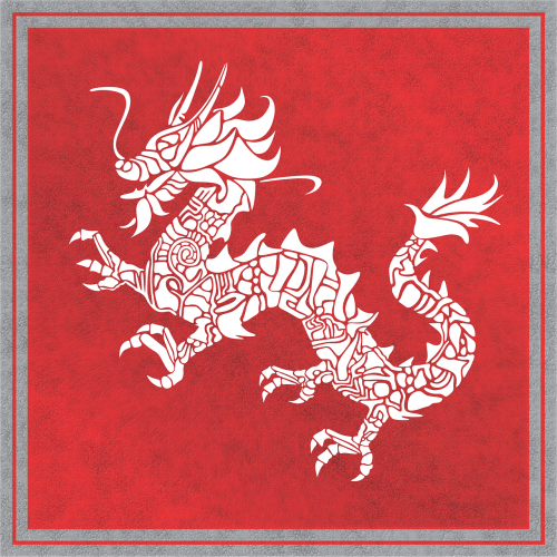 dragon chinese background