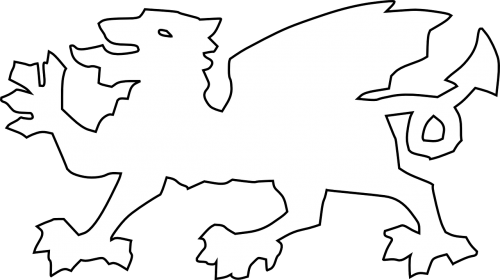dragon coat of arms welsh