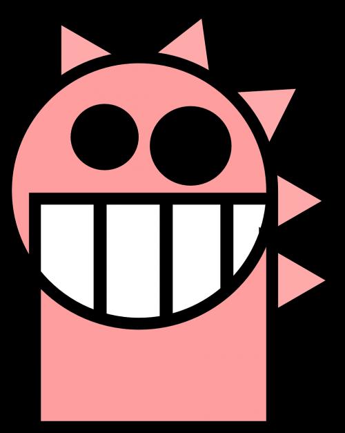 dragon head pink