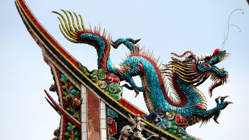 dragon the myth story temple