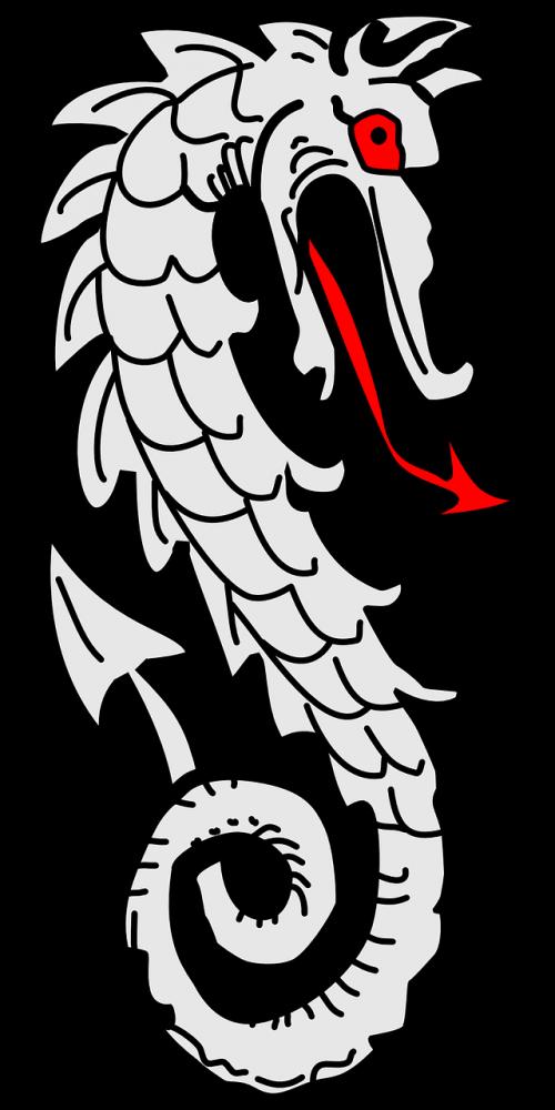 dragon heraldic element
