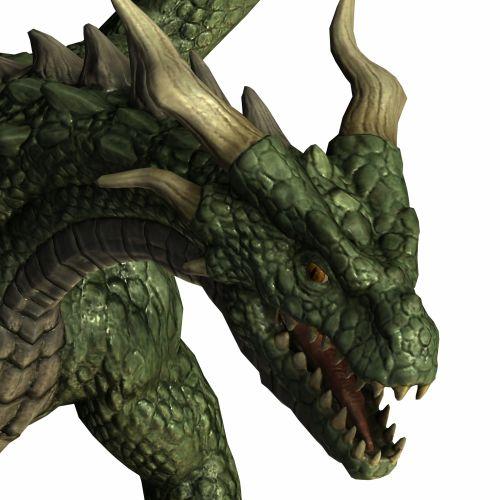 Dragon Head Green