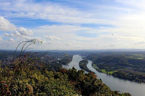 dragon rock  königswinter germany  siebengebirge