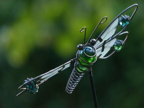 dragonfly wire glass