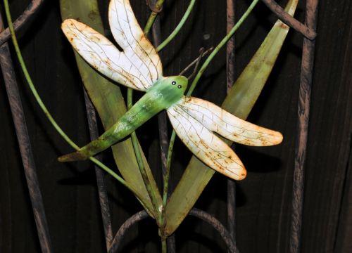 Dragonfly Garden Decor #1