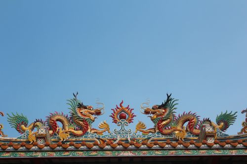 dragons asia roof complete