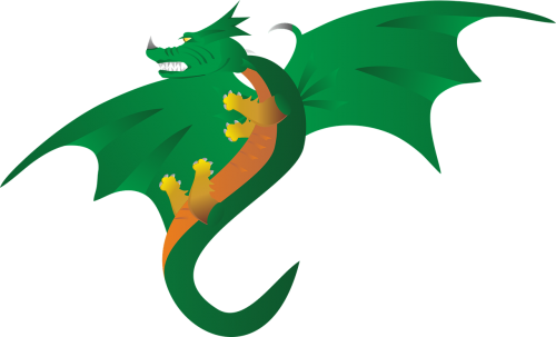 dragons mythical creatures fantasy