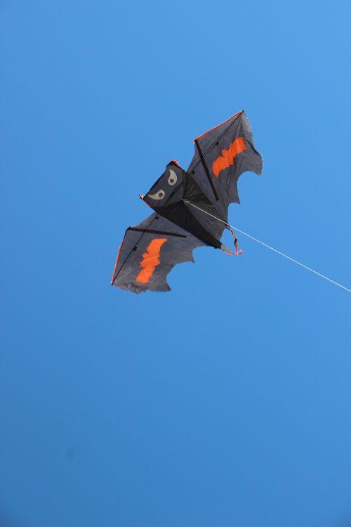 dragons kite wind