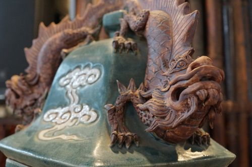 dragons figure chinese