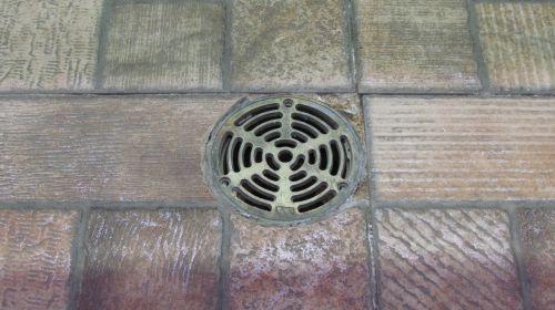nutekėjimas,grindys,plytelės,drenažas,senas,Santechnika,patalpose,padengti,grotelės,tekstūra,metalas