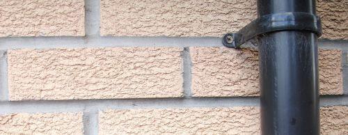 drain pipe wall header