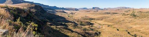 drakensberg  landscape  south africa