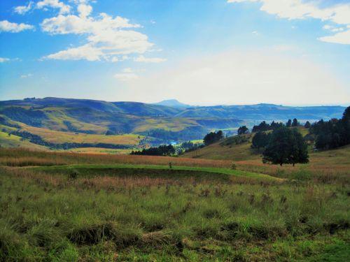 Drakensberg, View Of Mountains