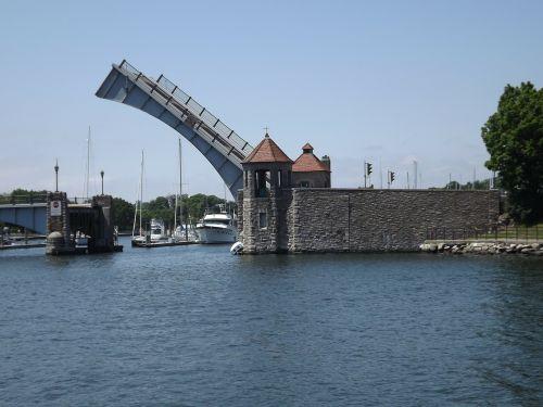 drawbridge castle gate wall