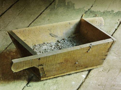 drawer mason mortar