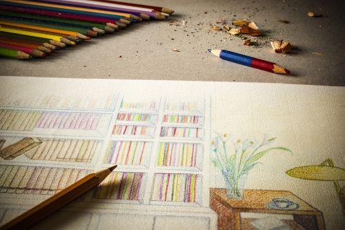 drawing pencil color