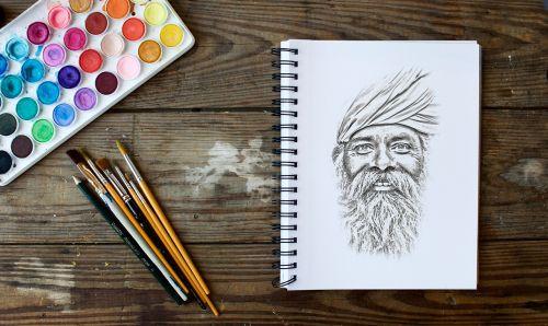 drawing portrait pencil