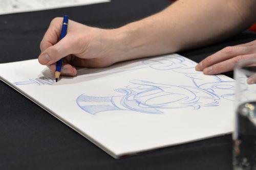 drawing comic-con comic book