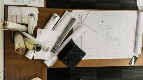 drawing architecture plans