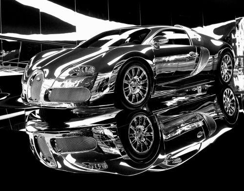 dream car sports car chrome