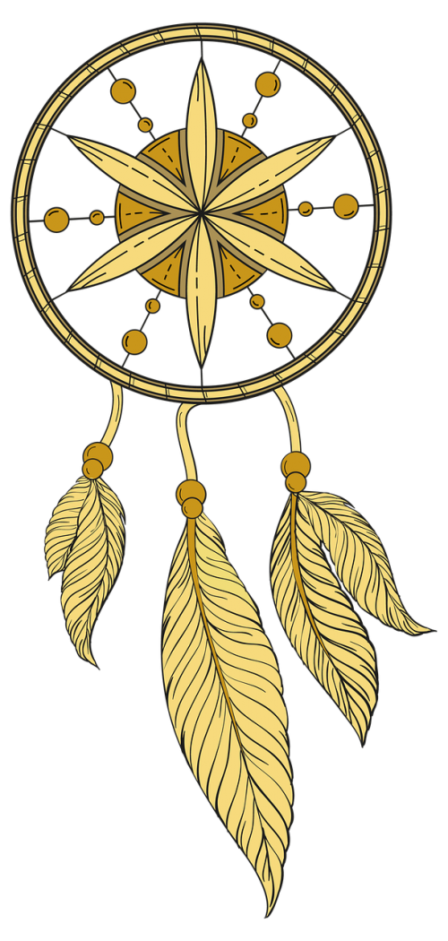 dream catcher dream feather