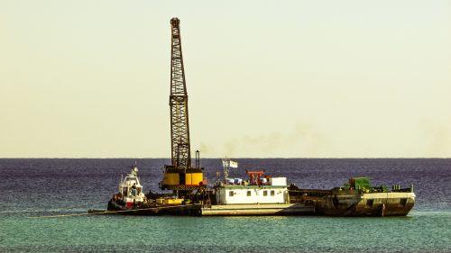 dredger floating platform dredging