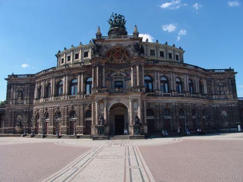 dresden opera historically