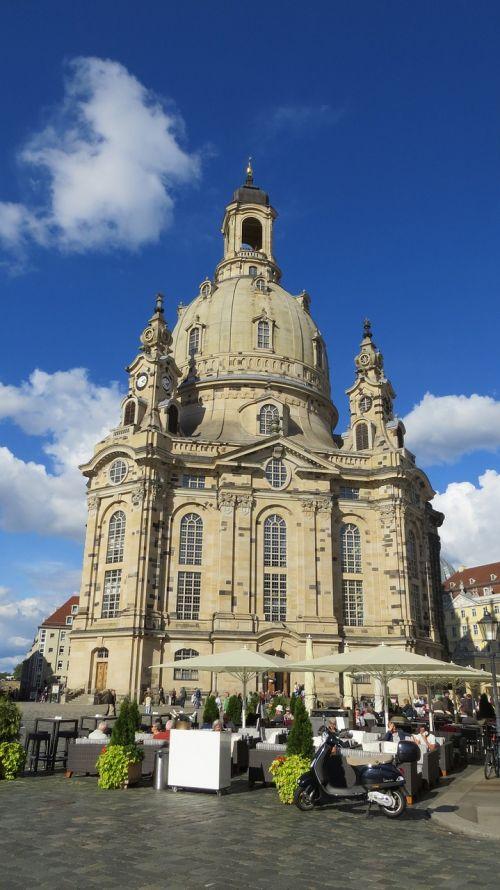 dresden frauenkirche marketplace