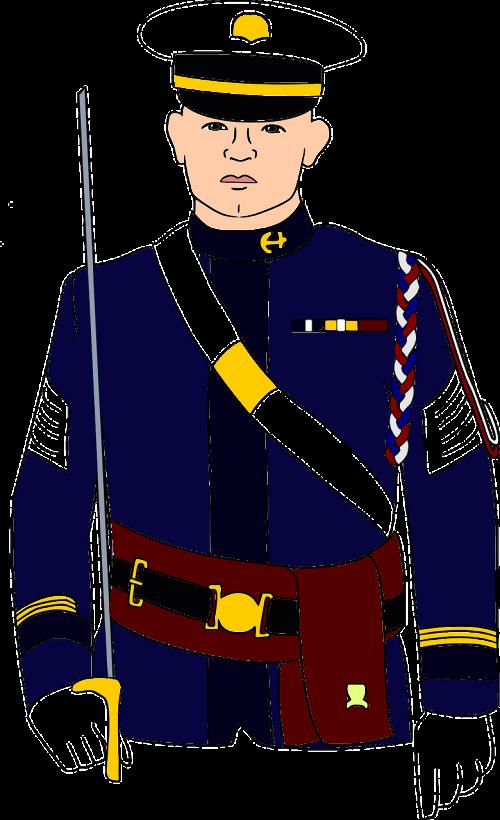 dress man military