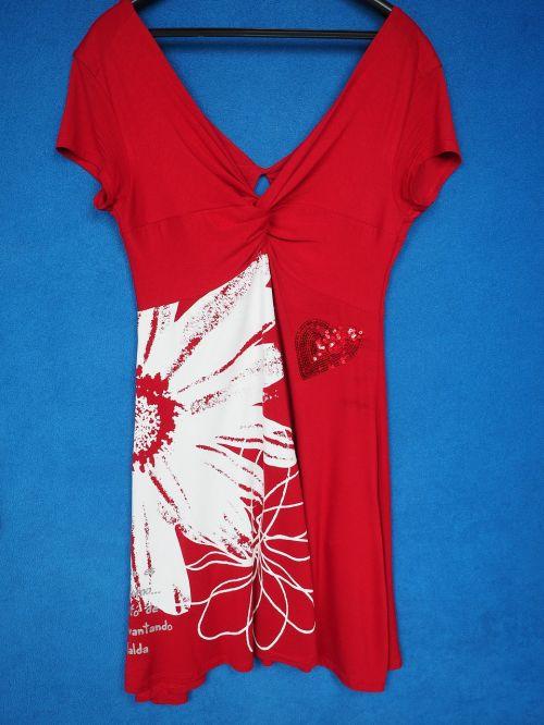 dress summer dress red