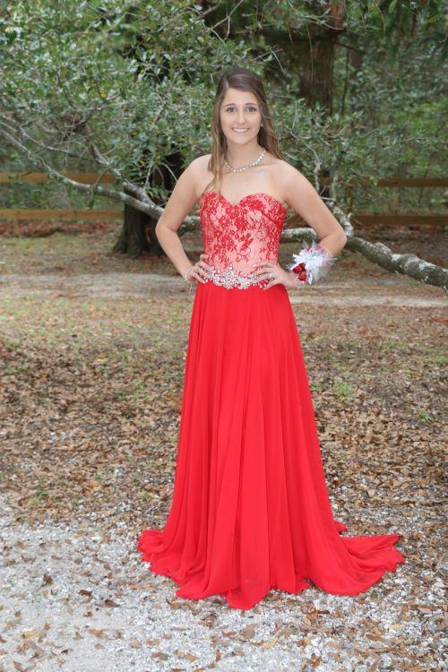 dress prom girl