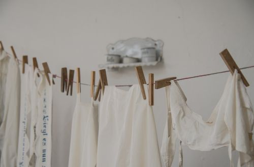 dresses laundry clothes line