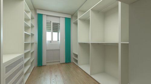 dressing room wardrobe design