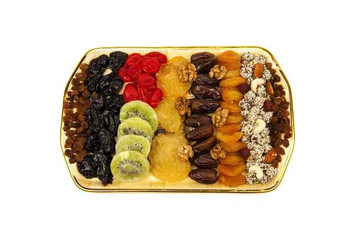 dried fruits mixed nutrition