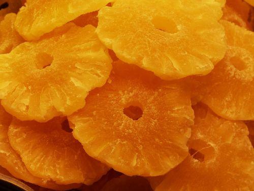 dried fruit pineapple bazaar