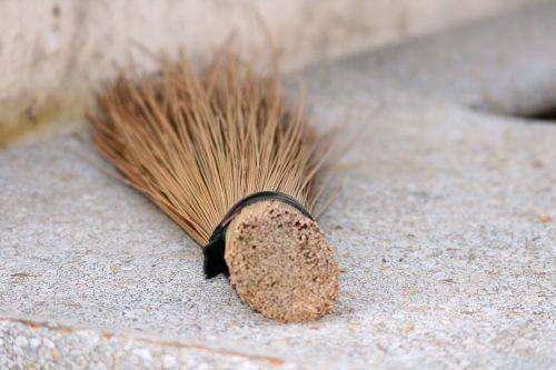 Dried Grass Broom