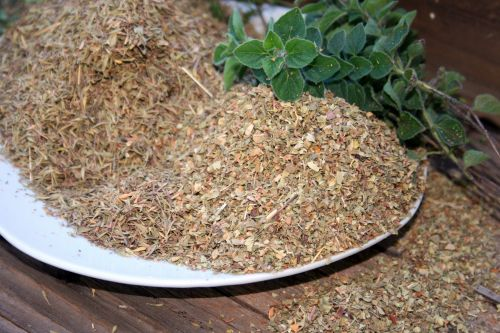 Dried Mixed Herbs And Origanum